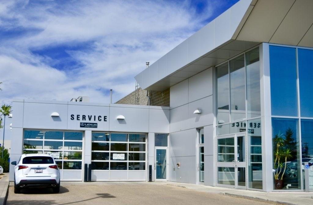 Lexus of Edmonton Service Repairs and Maintenance