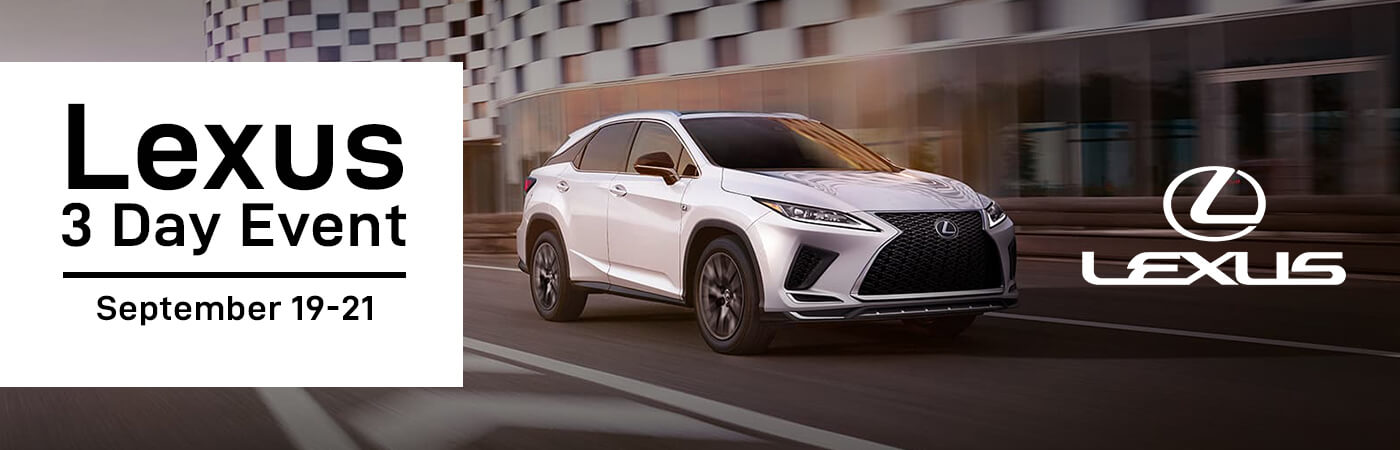 3 Day VIP Sales Event at Lexus of Edmonton