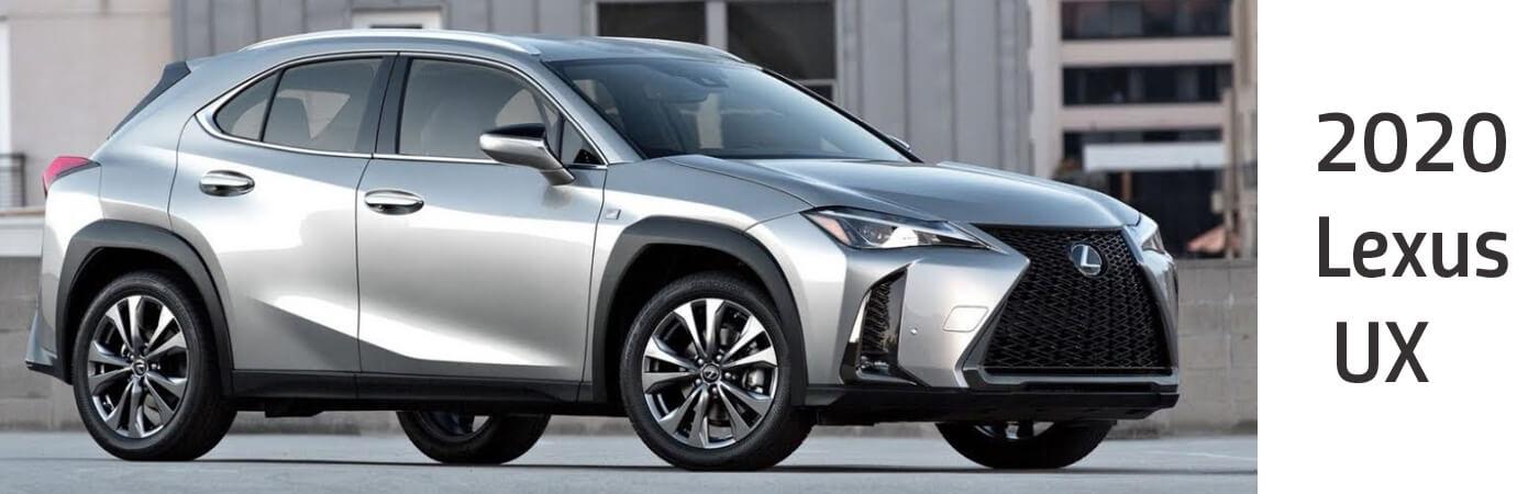 New 2020 Lexus UX for sale at Lexus of Edmonton