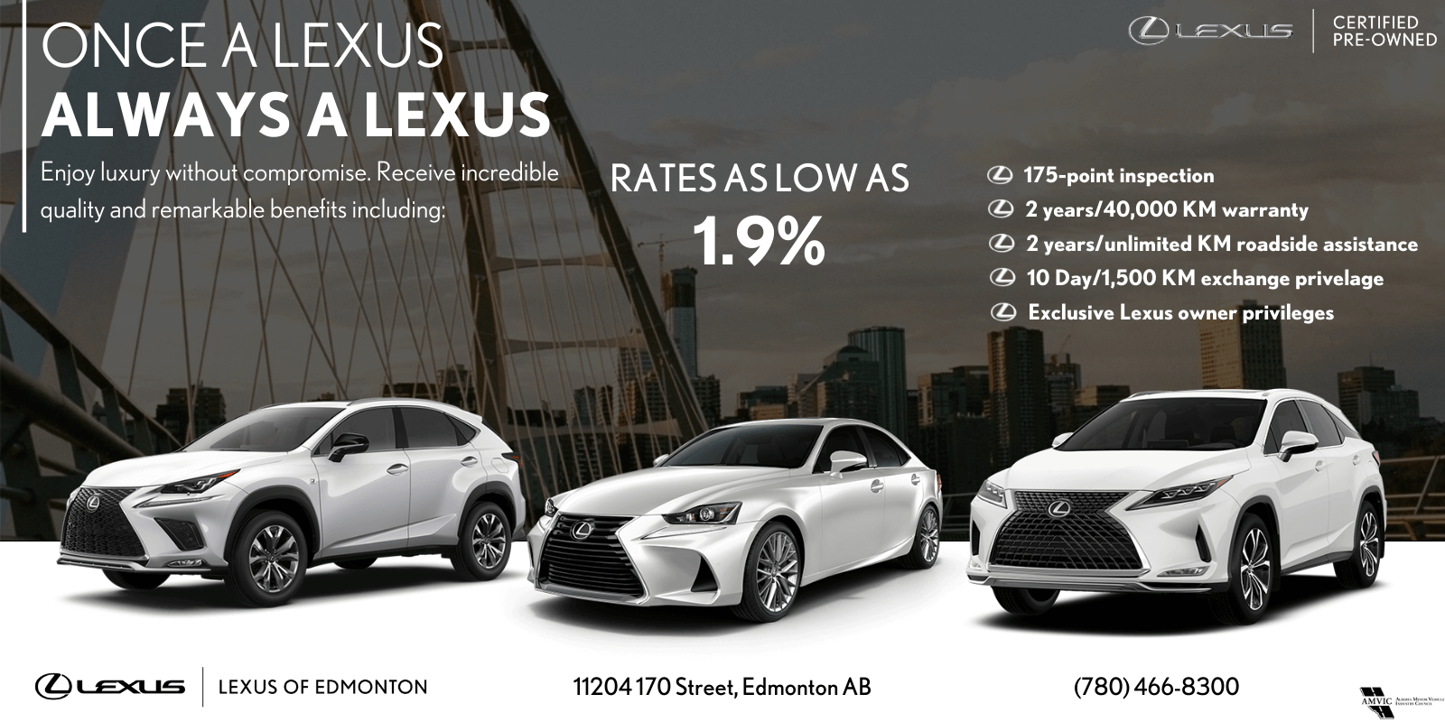 Once a Lexus, Always a Lexus