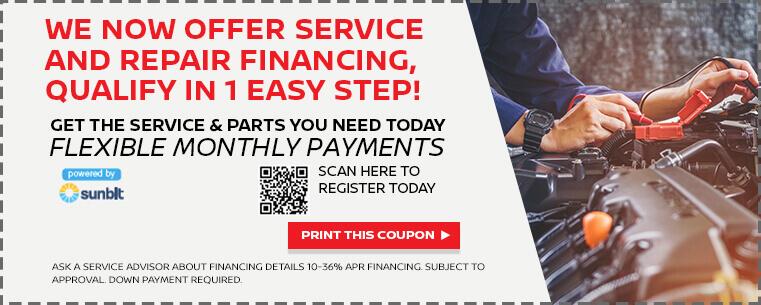 Service and Repair Financing