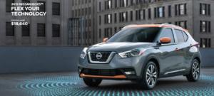 The 2019 Nissan Kicks