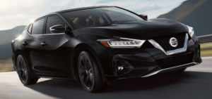 2019 Nissan Maxima in black