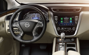 2019 Nissan Murano - Interior Console and Controls