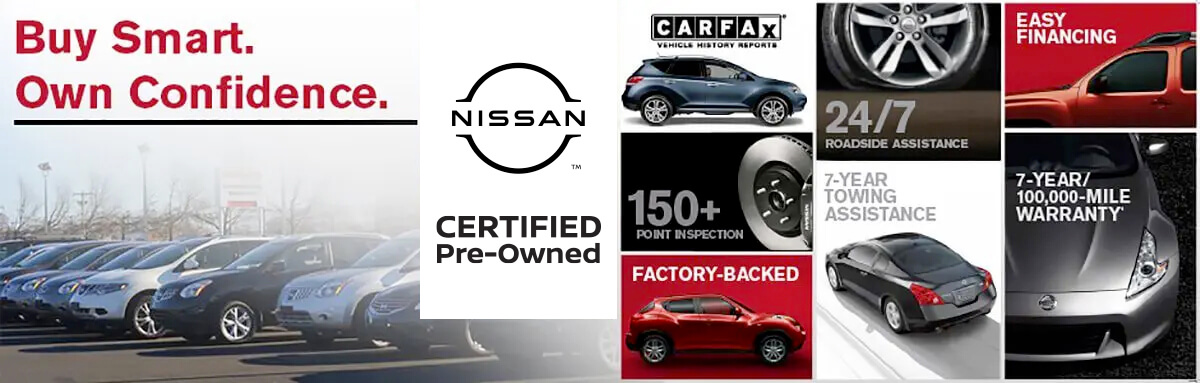 Buy Smart. Own Confidence. Certified Pre-Owned