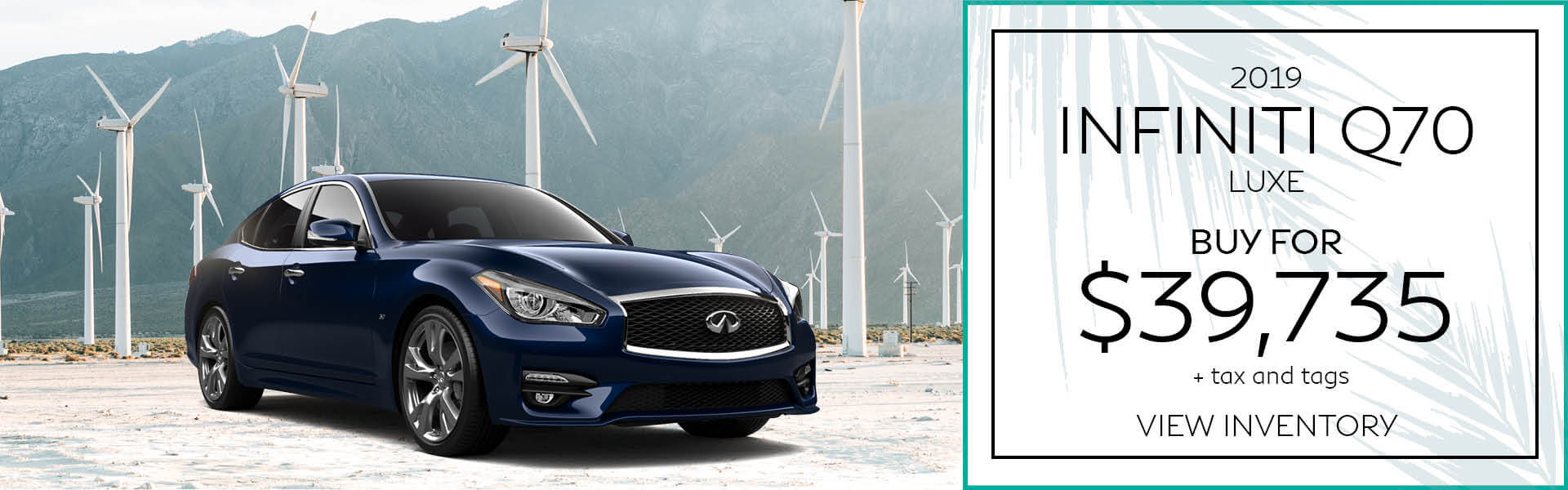 Q70 - Buy for $39,735