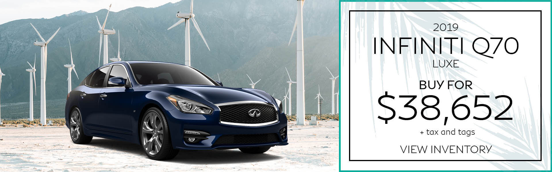 Q70 - Buy for $38,652