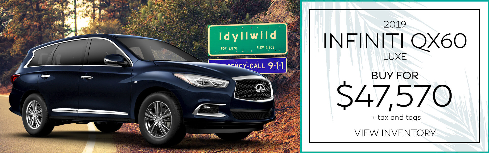 QX60 - Buy for $47,570