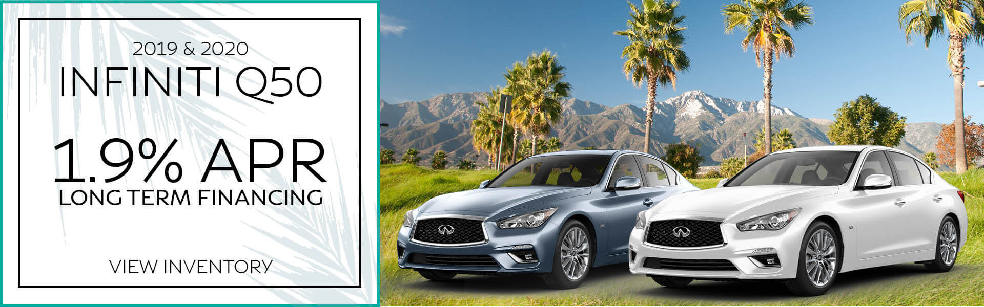 Q50 - 1.9% APR Available