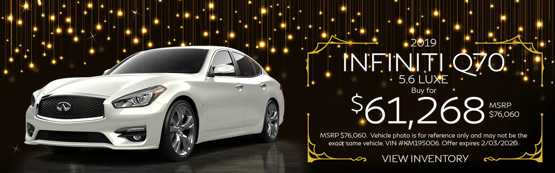 Q70 - Buy for $61,268