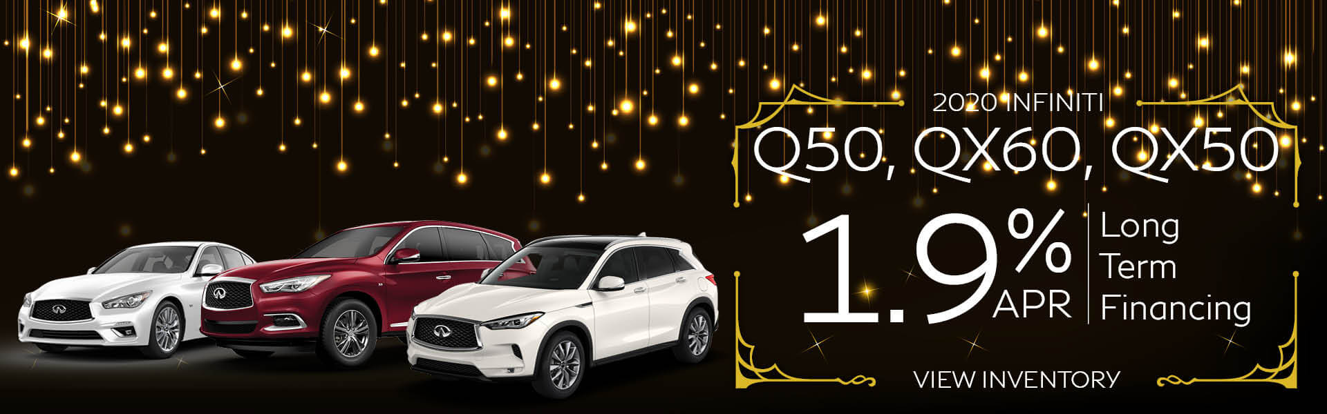 Q50 1.9% APR Available