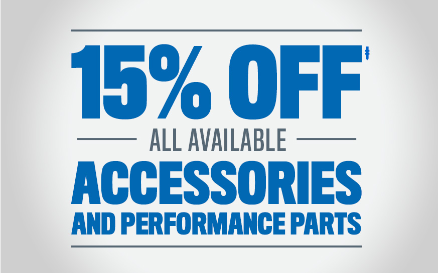 15% Off Accessories