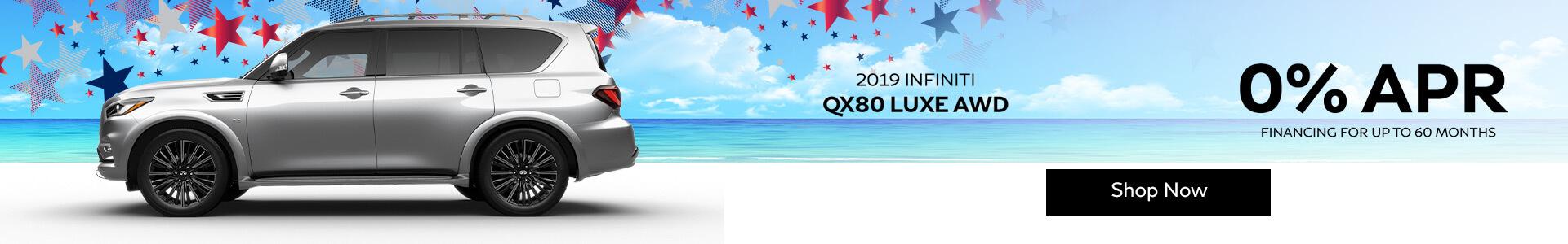 QX80 - 0% Financing