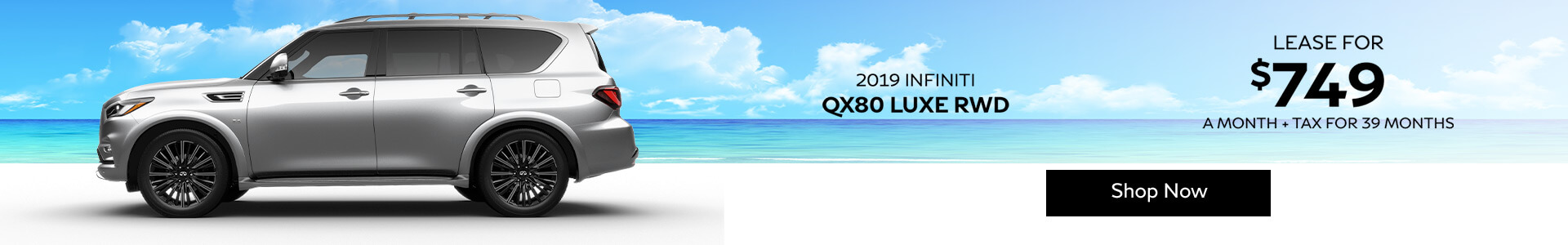 QX80 LUXE - Lease for $749