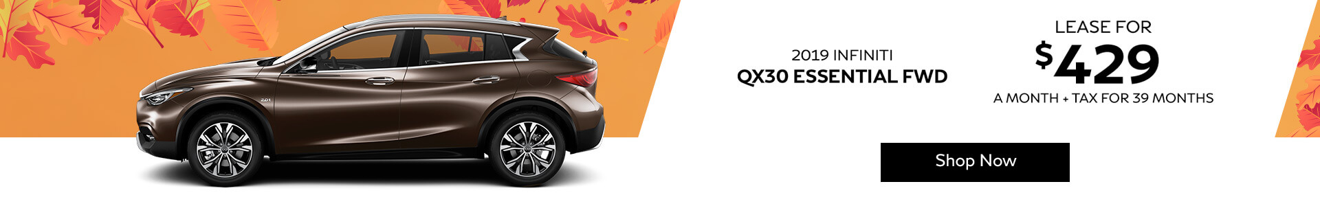 QX30 ESSENTIAL - Lease for $429