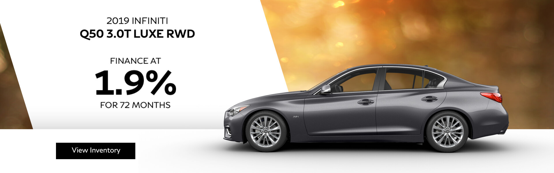 Q50 LUXE - Finance at 1.9%