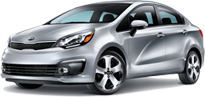 Kia Rio Sedan serving Verdugo City