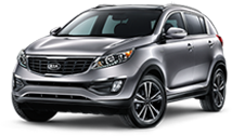 Kia Sportage serving La Crescenta