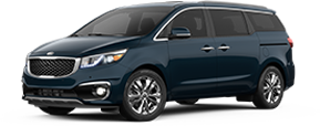 Kia Sedona serving South Pasadena