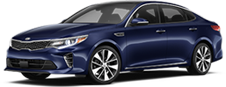 Kia Optima serving La Crescenta