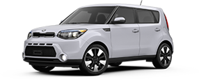 Kia Soul serving Universal City