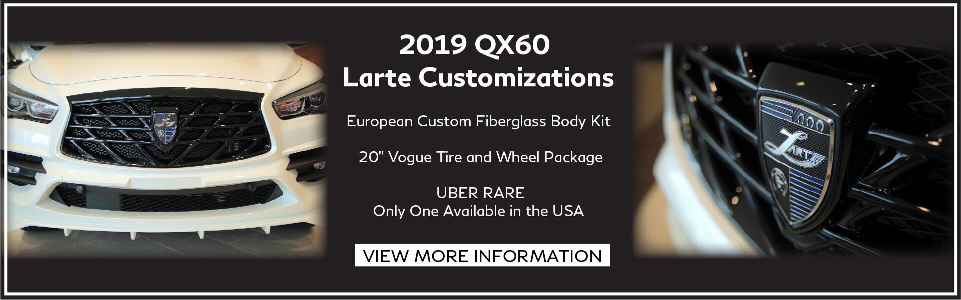 Larte QX60