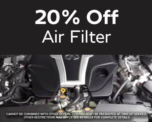 20% Off Air Filter