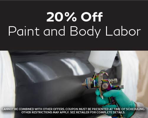 20% Paint and Body Labor
