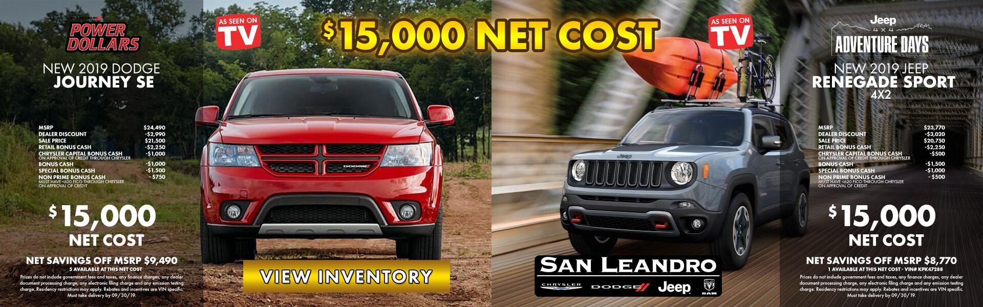 San Leandro Dodge Dealer >> New & Used Chrysler Dodge Jeep Ram Dealer   Serving San ...