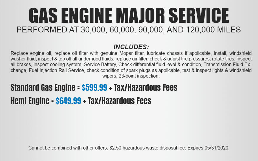 Gas Engine Major Service
