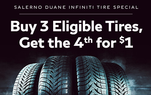 BUY 3 ELIGIBLE TIRES GET THE 4TH FOR