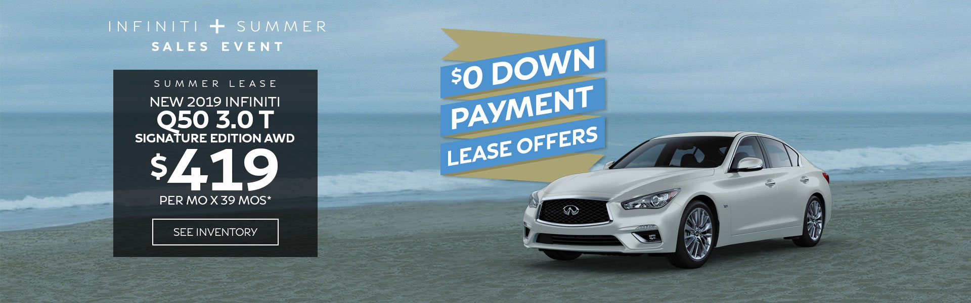 Q50 SE - Lease for 419