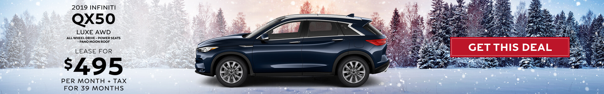 QX50 LUXE - Lease for 495