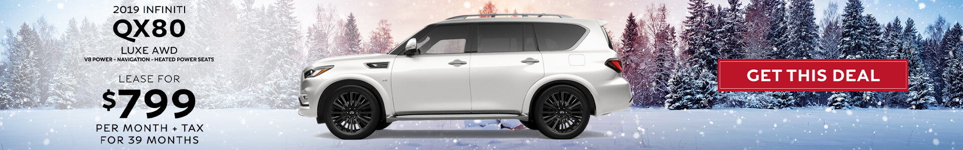 QX80 - Lease for 799