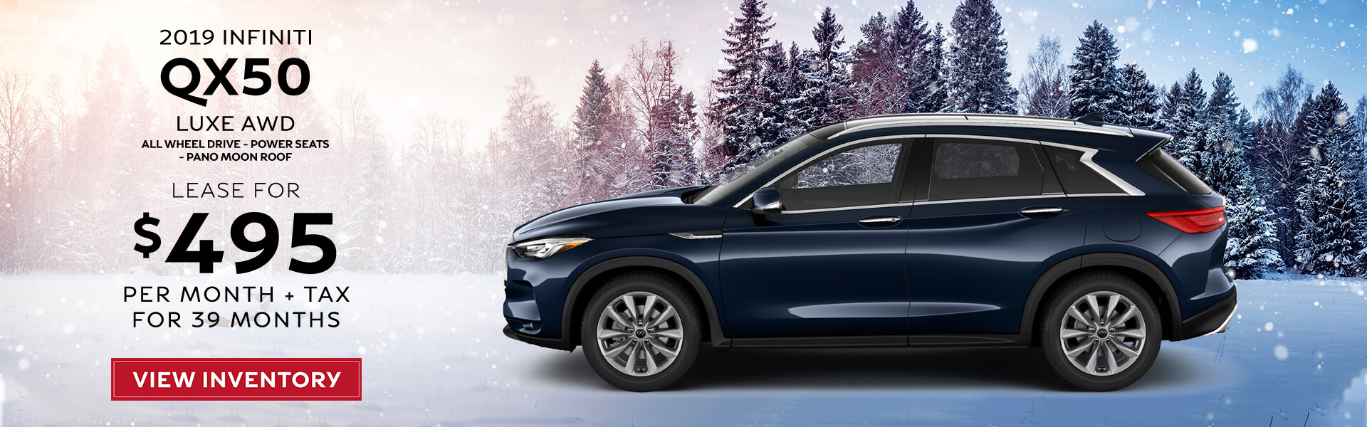 QX50 - Lease for 495