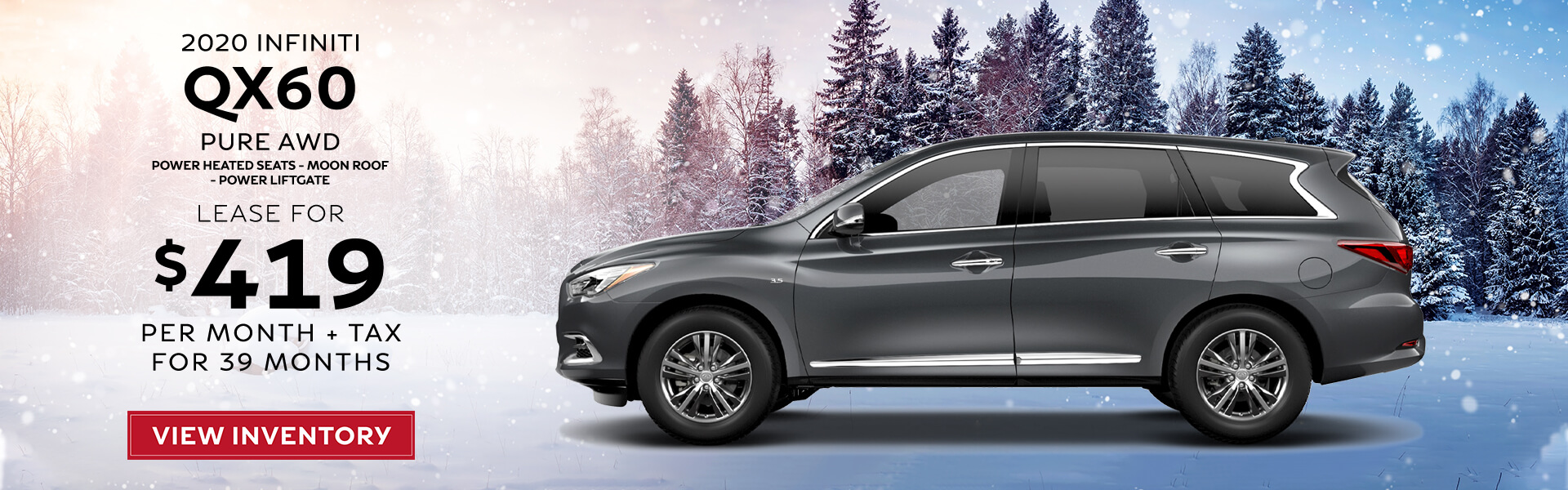 QX60 - Lease for 419