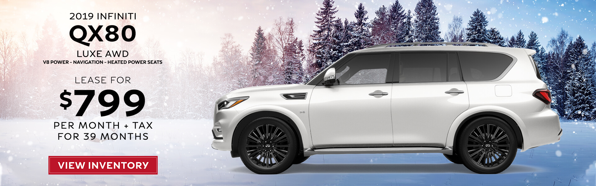 QX80 - Lease for $799