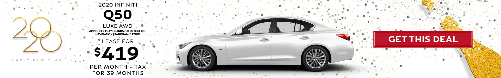 Q50 - Lease for $419