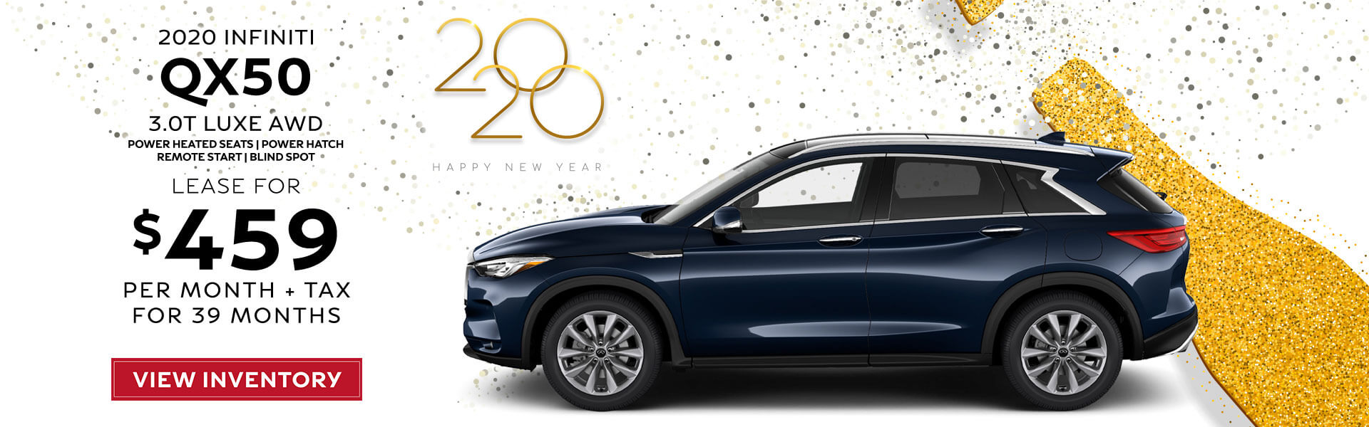 QX50 - Lease for $459