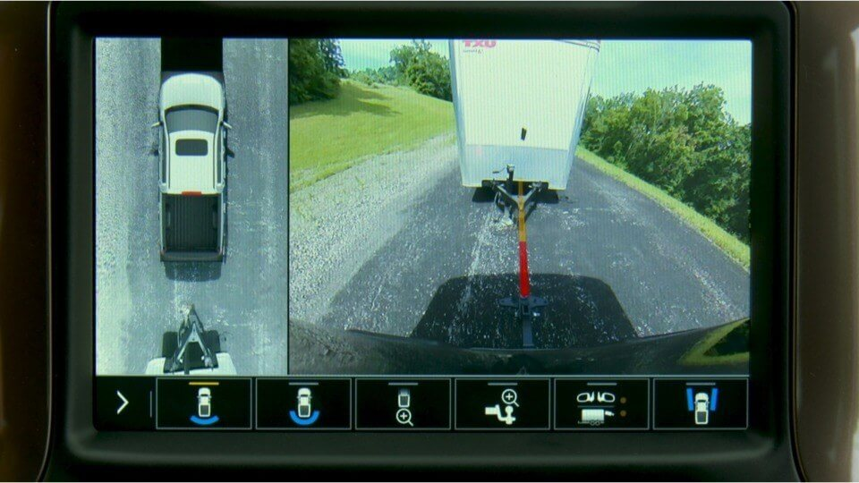 2019 Chevrolet Silverado Towing Camera