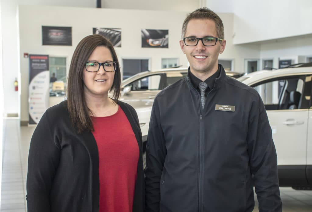 Matt Boyer + Crystal Beck - Westridge GMC Finance Team