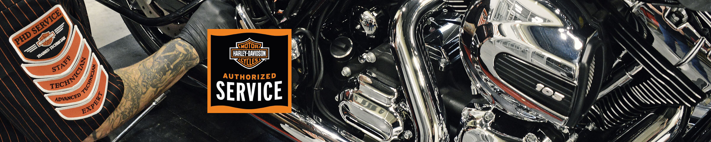 Harley Davidson Authorized Service