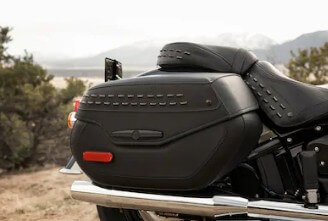 Lockable and Sealed Saddlebags