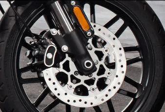 Dual Disc Front Brakes With Floating Rotors