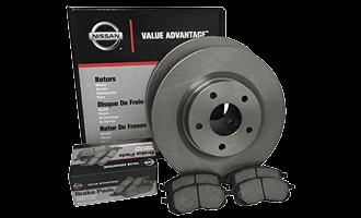 <span>Genuine Nissan Advantage</span>Brake &#038; Rotors