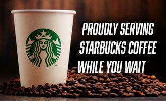 <span>Complementary</span> Starbucks Coffee