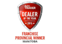 MURRAY CHEVROLET WINS PROVINCIAL DEALER OF THE YEAR! 2015