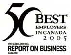 50 Best Employers in Canada 2005