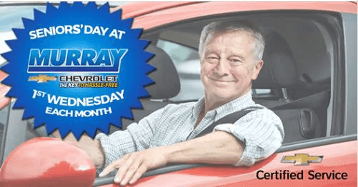 Seniors' Day at Murray Chevrolet!