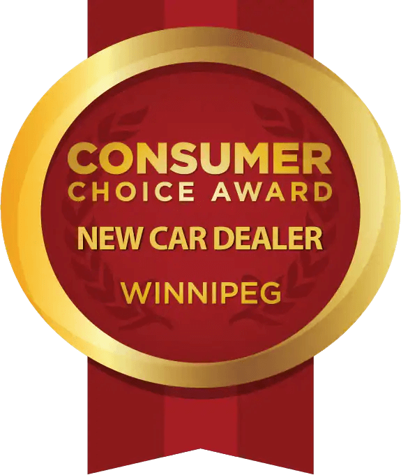Consumer Choice Award New Dealer Winnipeg